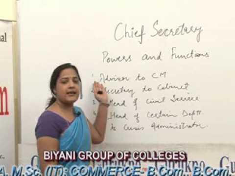 Chief Secretary Lecture, BA, MA  by Shiwani Bansal.