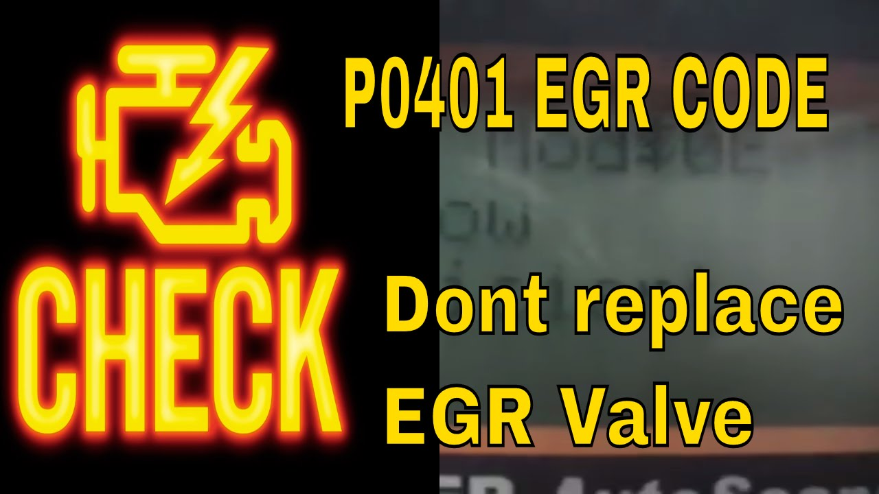 Trouble code p0404 egr cleaning youtube - How To Fix The Check Engine Code P0401 Egr Flow Egr Valve On V6 Honda And Acura Youtube