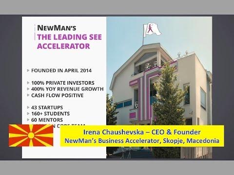 Macedonia :: Irena Chaushevska - NewMan's Accelerator - Balkans Startup Accelerators - Feb 8 2016