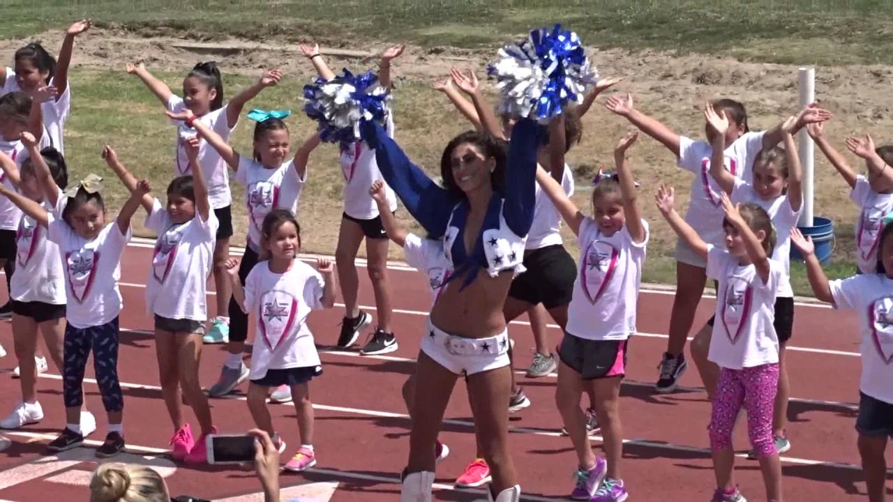 Dallas Cowboy Cheer Camp - YouTube c14f7c572