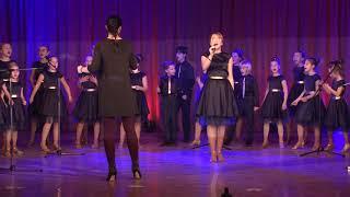 MOANA soloist Sorina Violetta (live sound) cover by COLOR MUSIC Children's choir
