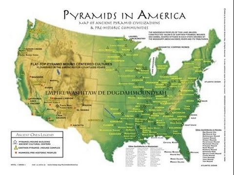 PYRAMIDS IN THE AMERICA'S, AMERICA IS A NEGRO CONTINENT