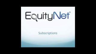 EquityNet Subscriptions thumbnail