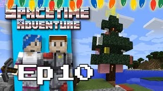 Minecraft: Decorate the Christmas Tree! - Survival Story, Ep 10