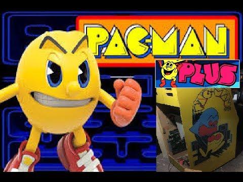 Pacman Plus Arcade Pickup And Repair