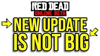 The Coming RDR2 Online Update IS NOT What You Think - NEW Red Dead Redemption 2 Online Update Talk