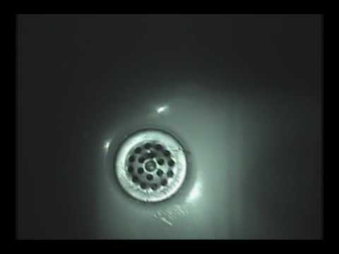 Freaky: A Light Inside Of The Drain Of My Bathtub.