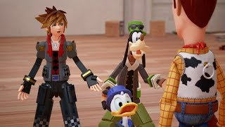 【KINGDOM HEARTS III】 D23 EXPO 2017 Trailer