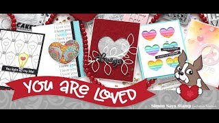 Simon Says Stamp You Are Loved Release & Review!