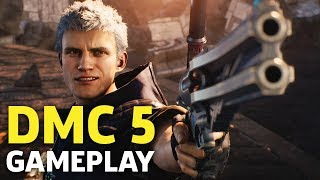 20 Minutes Of Devil May Cry 5 Gameplay | Gamescom 2018