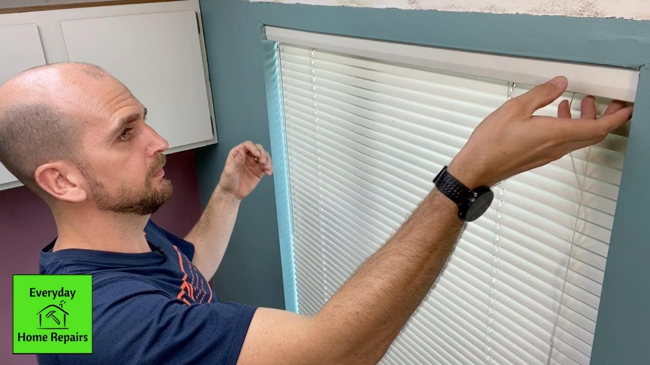 How To Remove Blinds Levolor Mark 1 You