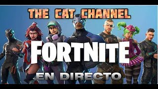 FORTNITE - DIRECTO CON NOVILLO´S  FAMILY!!!