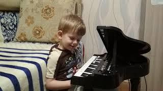 #1 Первые уроки музыки с ребёнком 4 года. Урок N1. Знакомство с клавиатурой фортепиано.