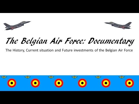 The Belgian Air Force| Documentary