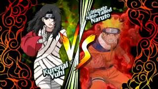 Naruto: Clash of Ninja Revolution 2 | Kurenai vs. One-Tailed Naruto
