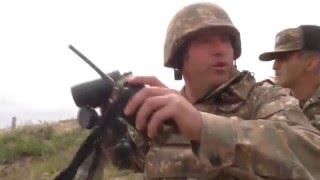 Карабах танки бьют по целям | Новости сегодня 05.04.2016