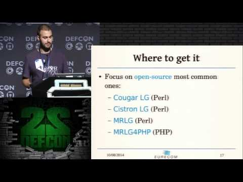 DEF CON 22 - Through the Looking-Glass and What Eve Found There