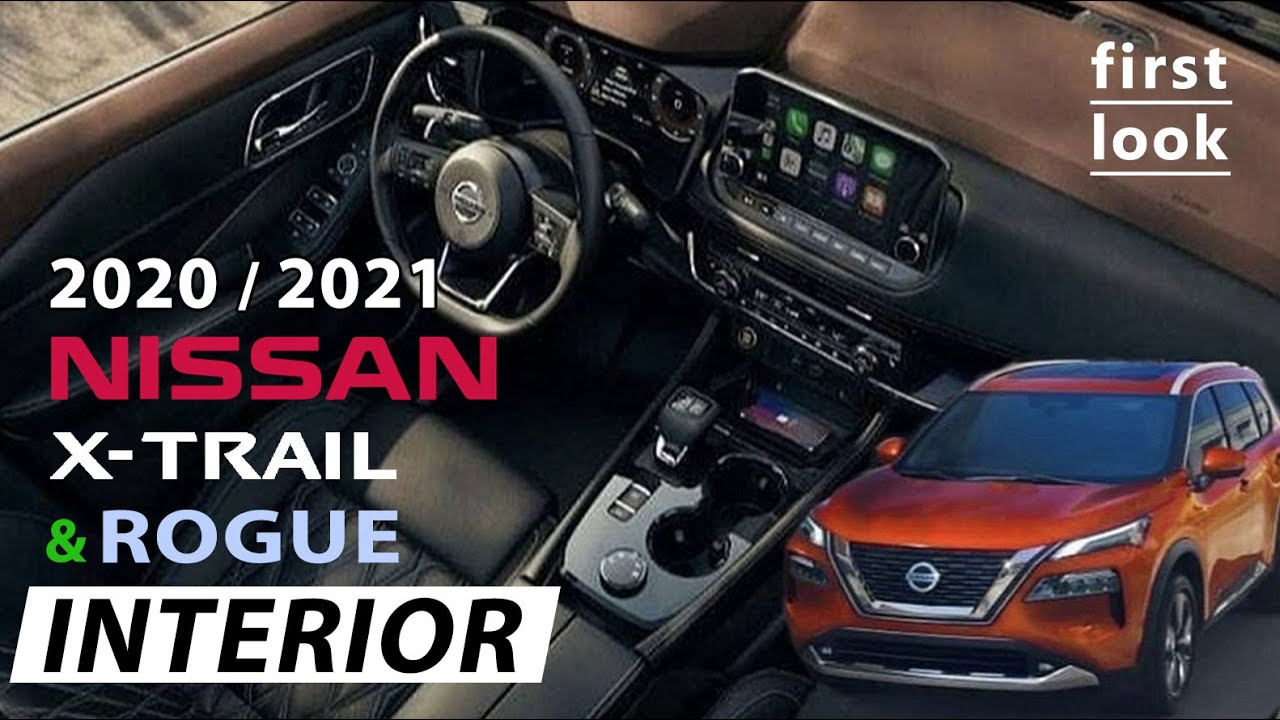 new interior of nissan xtrail 2020 or 2021 and future