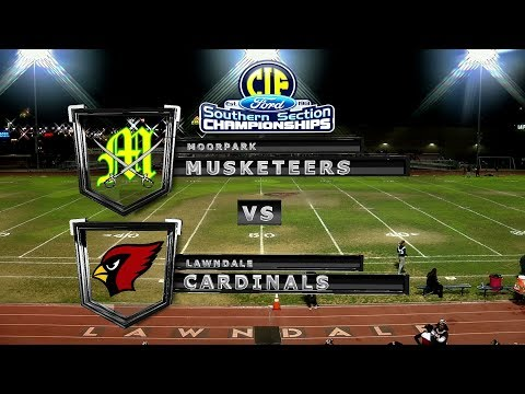 CIF-SS DIV 5 Playoff Football - Moorpark vs Lawndale 11-17-17