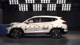 ANCAP CRASH TEST: Hyundai Tuscon (Aug 2015 - onwards) frontal offset test at 64km/h
