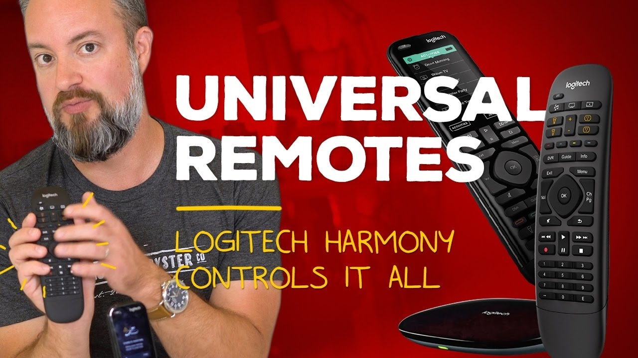 Logitech Harmony paired with an iPhone is the ultimate universal