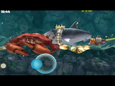 Hungry shark evolution megalodon vs giant crab - photo#15
