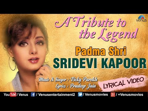 Chandni Ek Lamhe  Mein | A Tribute To The Legend : SRIDEVI | Vicky Parekh | Evergreen Bollywood Song