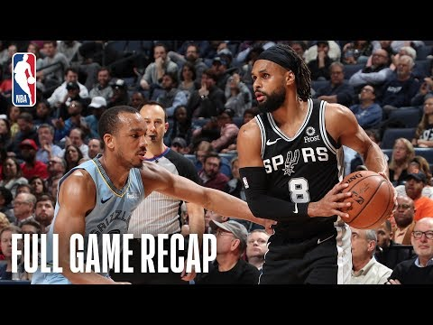 SPURSWATCH - Aldridge, Spurs Top Grizzlies