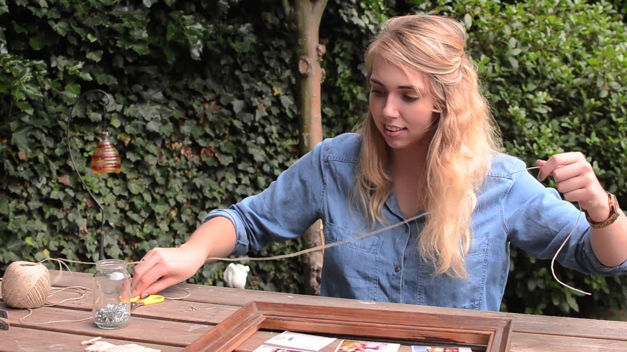Super DIY FOTOLIJSTJE MAKEN - YouTube &GU25