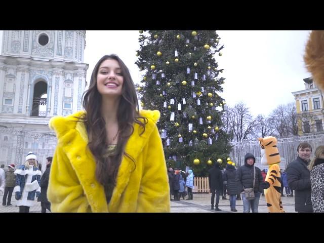 Новогоднее поздравление МИСС УКРАИНА 2017 || Полина Ткач
