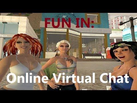 виртуальный город знакомств чат