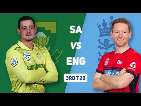 England Vs South Africa 3rd T20 Match Live,  Sa Vs Eng Live