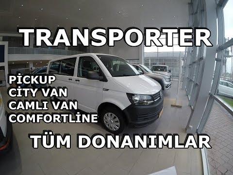 VW TRANSPORTER TÜM VERSİYONLAR