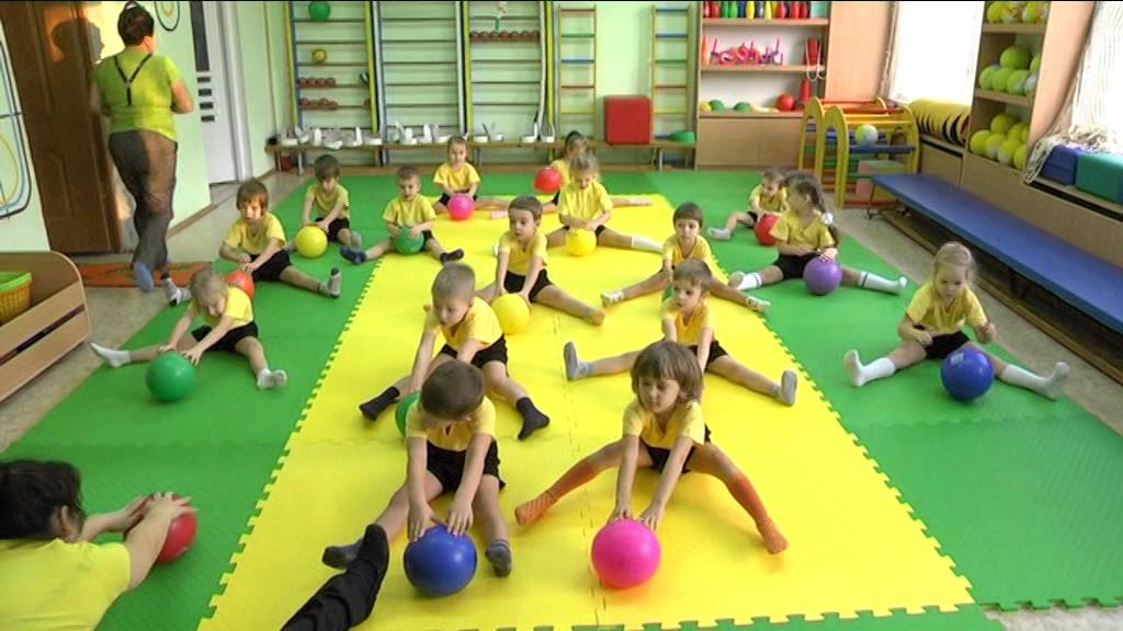 Физкультура. Детский сад № 407 - YouTube