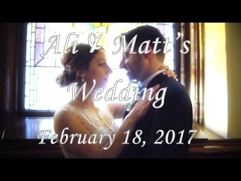 Ali & Matt's Full Wedding Ceremony (Waterside - Edgewater ,NJ)