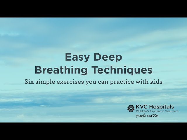 Easy Deep Breathing Exercises That Reduce Stress and Anxiety