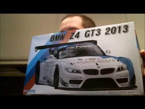 SCSM - 2013 BMW Z4 GT3 Kit Review (Fujimi)