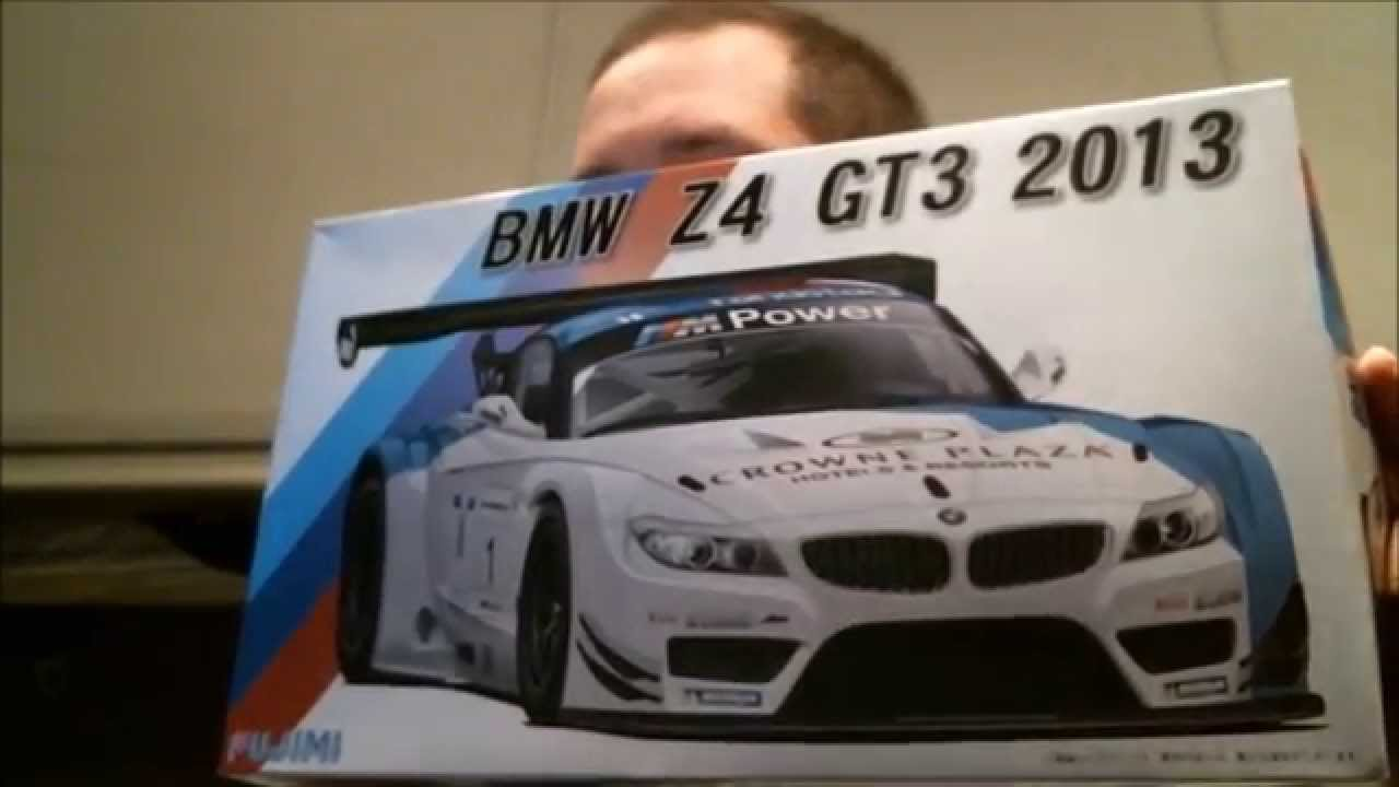 Scsm 2013 Bmw Z4 Gt3 Kit Review Fujimi Youtube