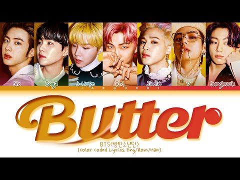 BTS Butter Lyrics (Color Coded Lyrics)
