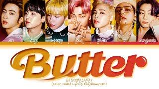 Download BTS Butter Lyrics (Color Coded Lyrics)