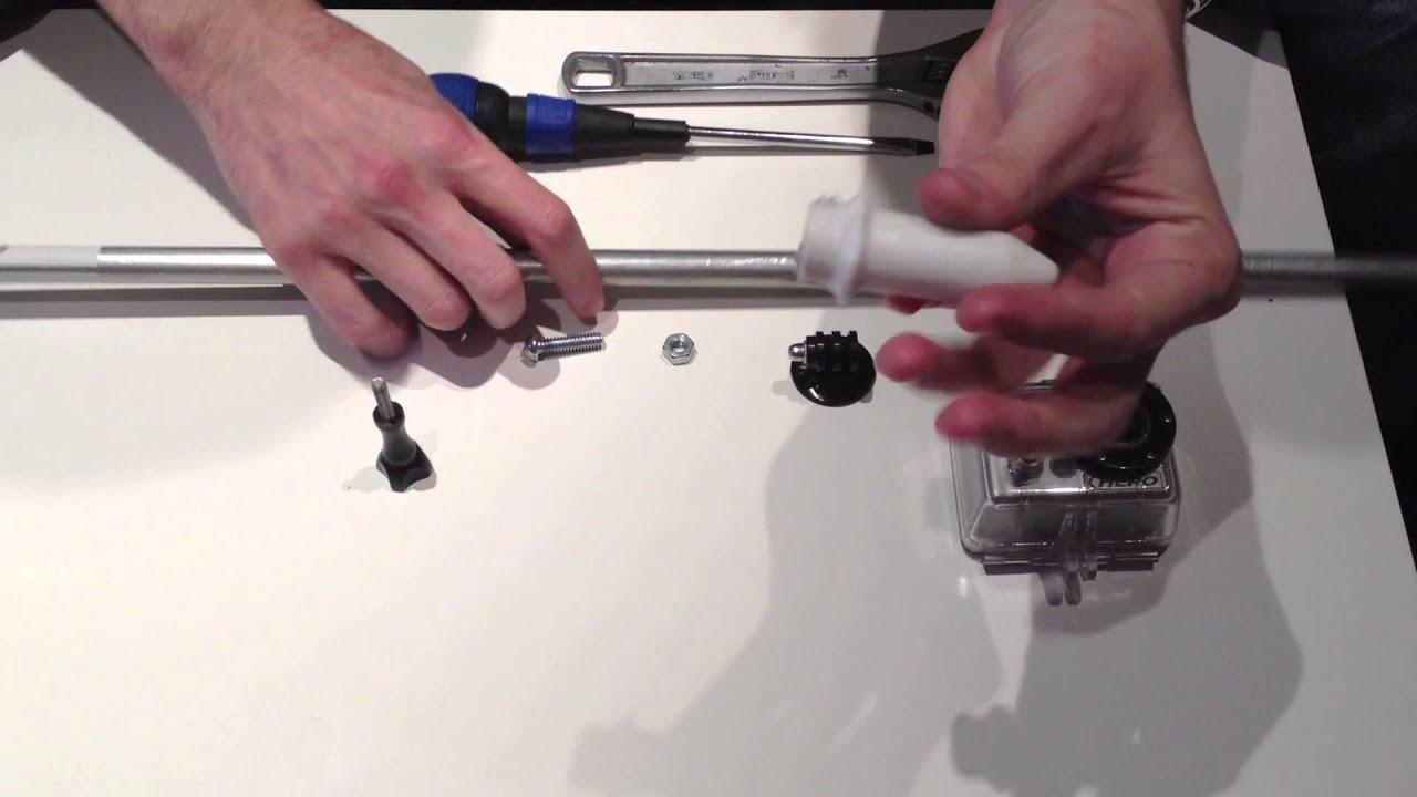 Como hacer un palo para la go pro youtube for Como hacer un toldo casero