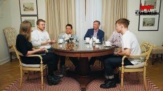 Смотреть Поперечный, Альтов, Соболев и Усачев — об эволюции юмора в России онлайн
