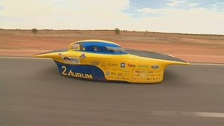 Solar cars try to make hay while the sun shines - no comment