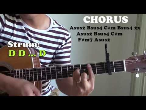 Guitar guitar chords of tadhana : Tadhana EASY Tutorial (Up Dharma Down) - YouTube