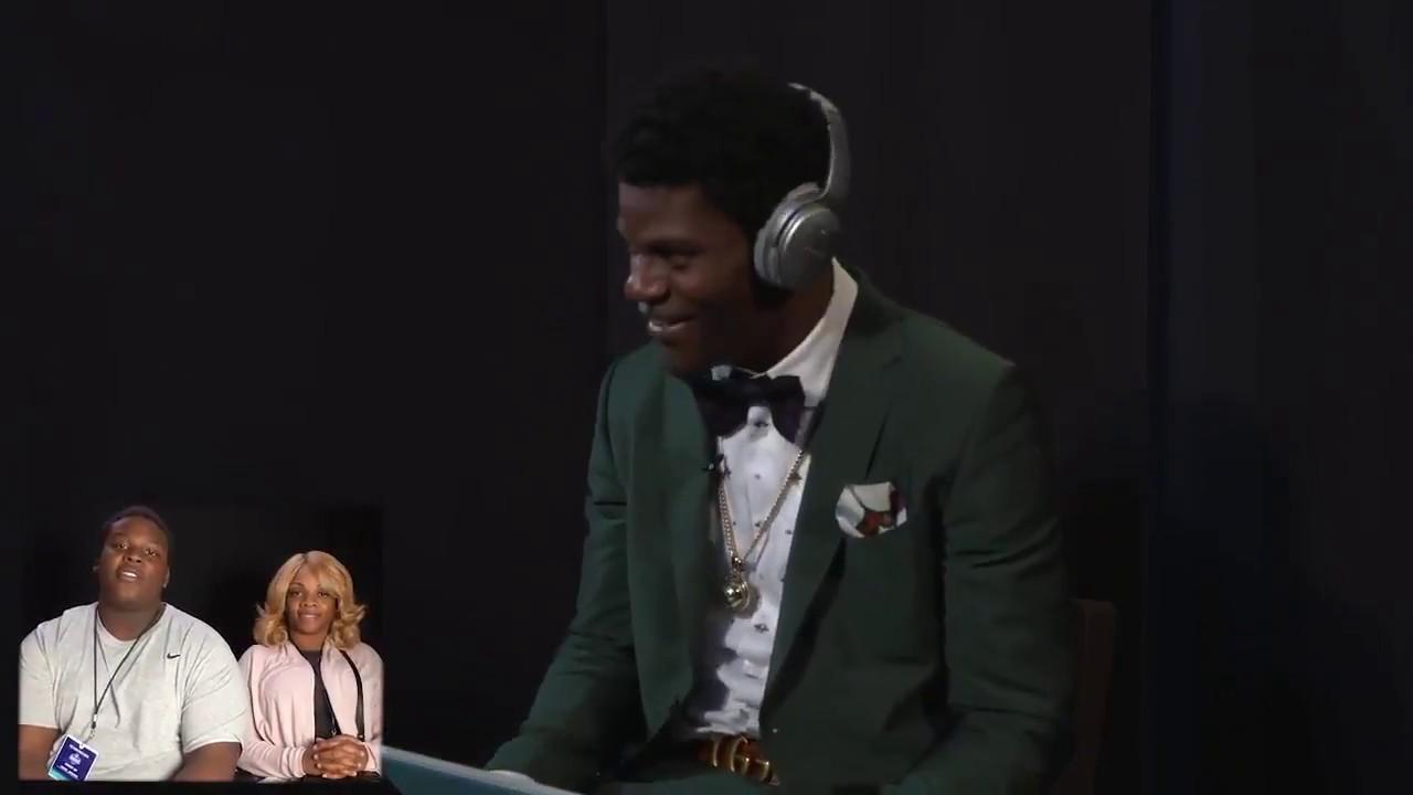 Lamar Jackson receives heartfelt message from brother, Jamar Jackson.