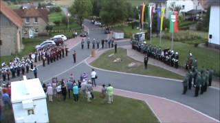 2012-08-17 Schützenfest in Kühlsen - Zapfenstreich & Einweihung der Steinwappen