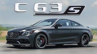 The Luxury MUSCLE CAR - 2020 Mercedes-AMG C63S Coupe Review