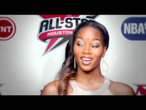 NBA All-Star Game 2013 Intro - With Damaris Lewis