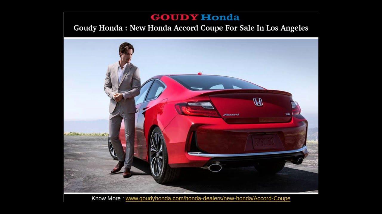 Goudy Honda : Honda Accord Coupe Dealer In Los Angeles