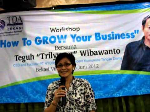 testimoni workshop How to Grow your Business di Bekasi 16 Juni 2012